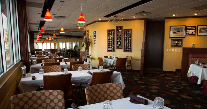 Tables, Booths & Bar
